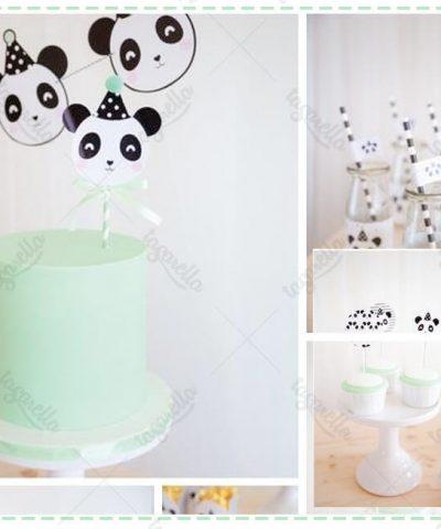 Panda Temalı Parti Konsepti