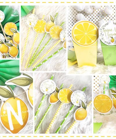 Limon Temalı Parti Konsepti