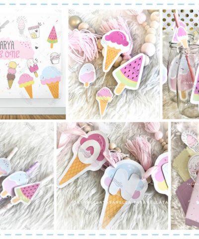 Dondurma Temalı Parti Konsepti