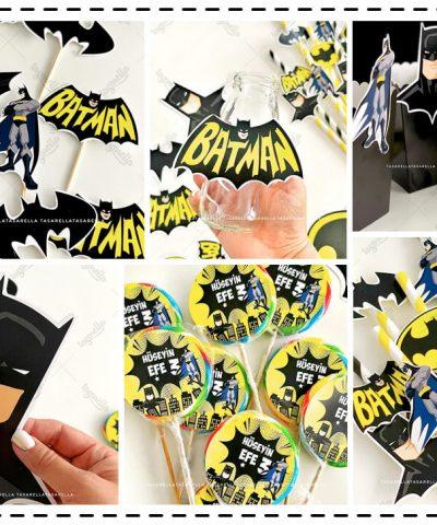 Batman Temalı Parti Konsepti