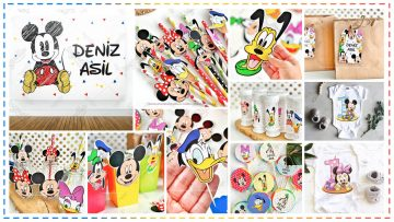 Disney Mickey Mouse Temalı Parti Konsepti